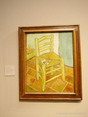 Vincent van Gogh - Vincents Stuhl mit Pfeife