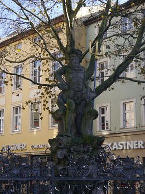 Neptunbrunnen am Grünen Markt