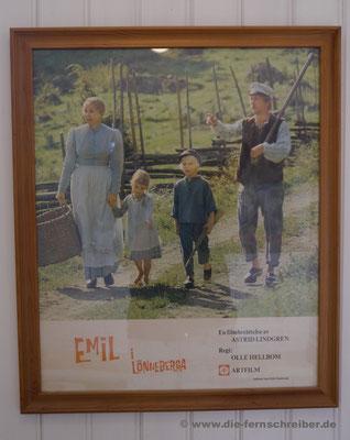 """Filmplakat auf schwedisch: """"Emil i Lönnerberga"""""""