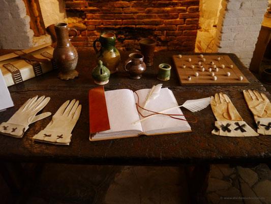 Im Inneren: Der Vater von William war Handschuhmacher