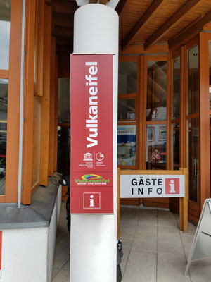 Eingang Gäste-Info