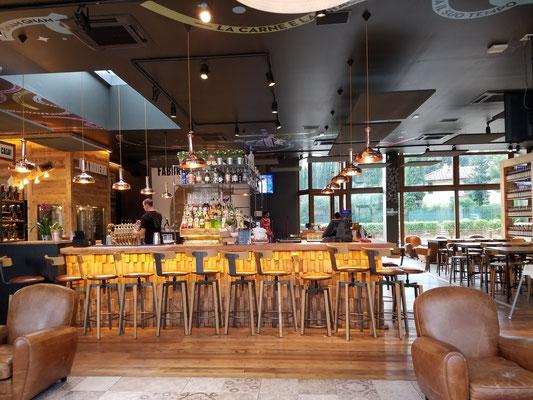 Bar-Bereich im Restaurant