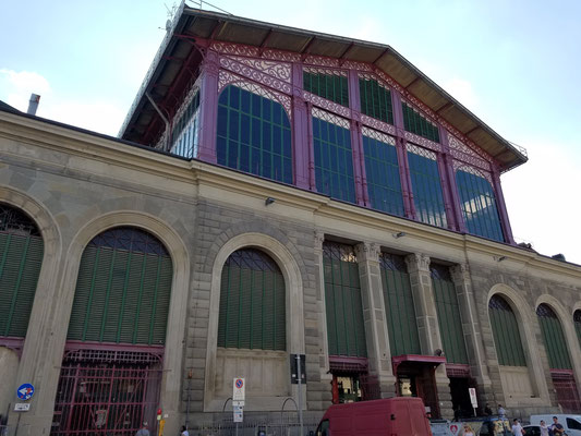 historische Markthalle Mercato Centrale