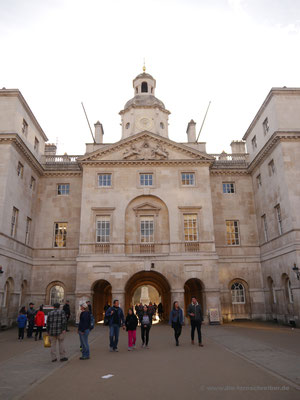 Eingangsportal des Horse Guards