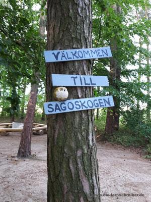 """""""Willkommen im Wald""""..."""