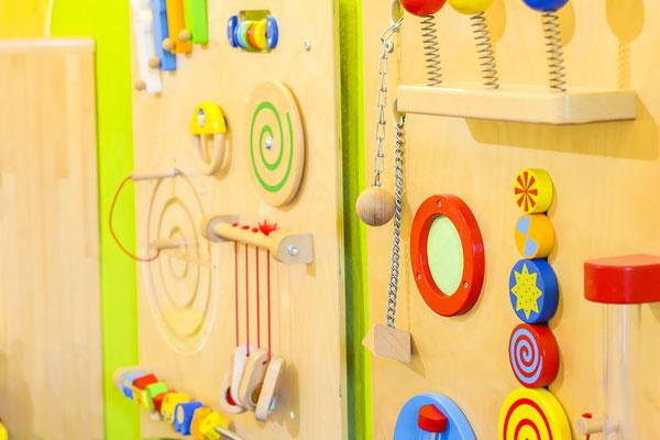Kindertagesstätte Jena Spielwand