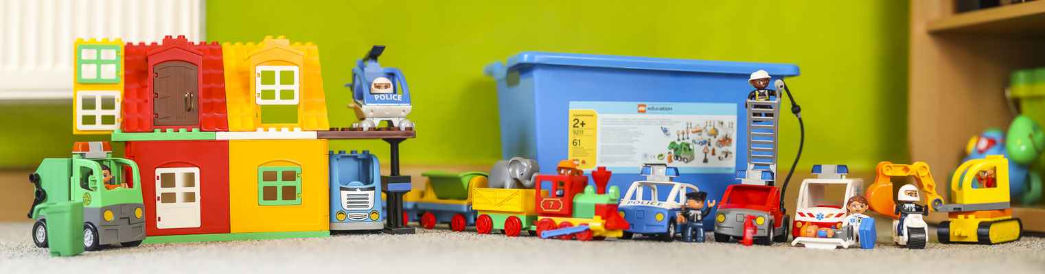 Kindertagesstätte Jena Duplo-Spielzeug
