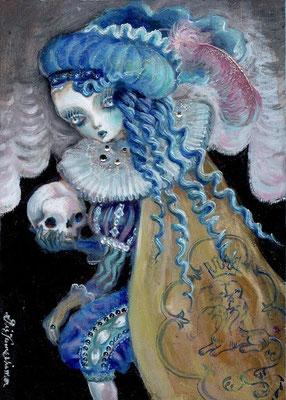 2016 Hamlet /B5/ oil painting