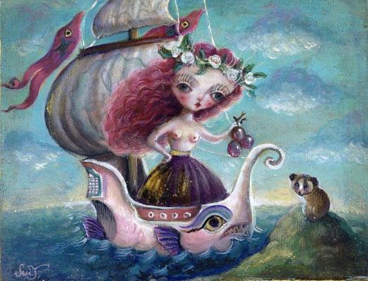 2016 Primavera/F0/ oil painting    sold