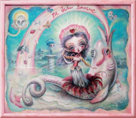 2014-2015 Oil on canvas / F10 / マルガリタの生還
