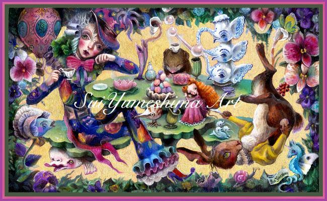 2017 【不思議の国のアリス/テーマ個展出展】SOLD
