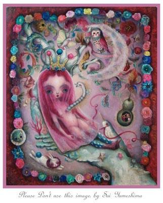 """2015  Oil on  canvas / F10/    """"傷を負う人形~私は人形だと思っていた~"""" 個人蔵"""