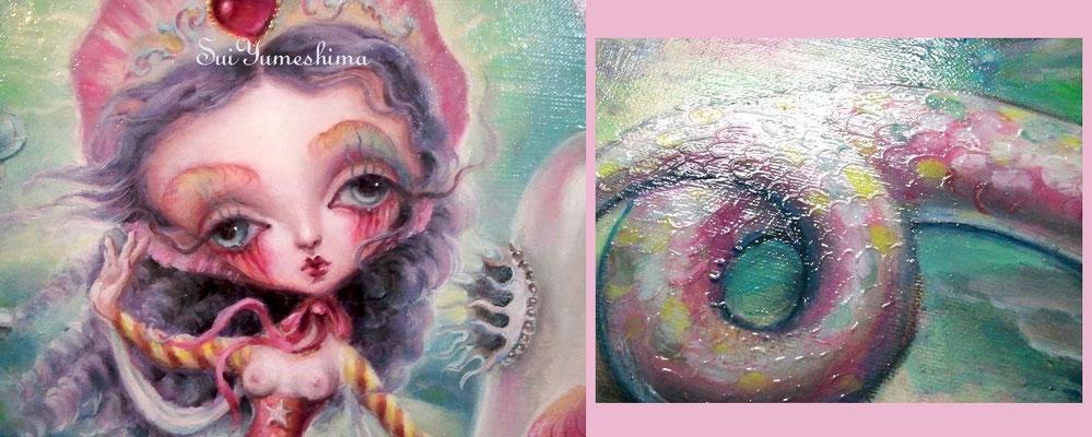 2014-2015 Oil on canvas / F8 / マルガリタの生還 部分