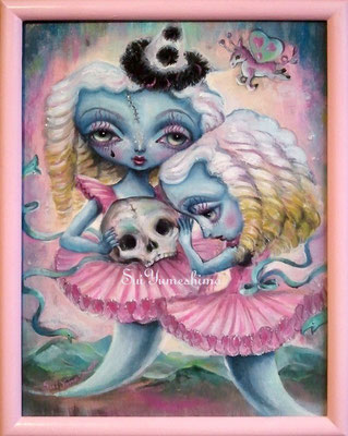 2015 Oil on canvas / F4 / PINK CIRCUS Ⅰ / SOLD