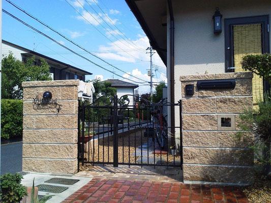 外構リフォーム工事 施工事例 奈良県北葛城郡広陵町H様邸