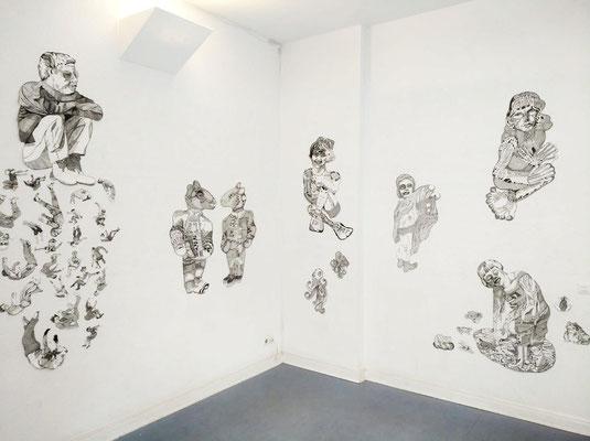 Ausstellungsansicht Galerie M6