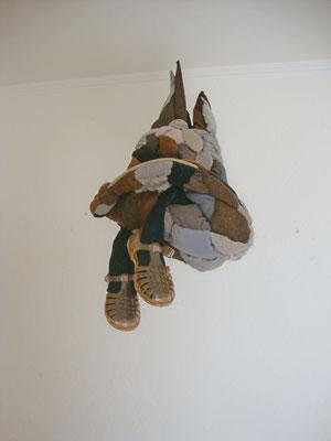 Gedanke an einen Cowboy  -  Hut, Schuhe, Stoff