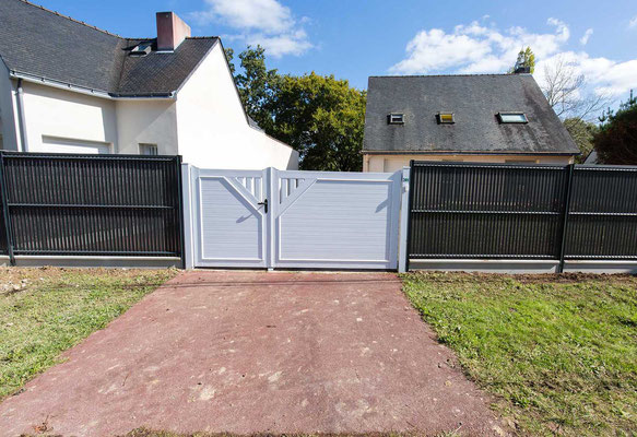 Clotures et portails by Manupaysage Herbignac Guérande La baule