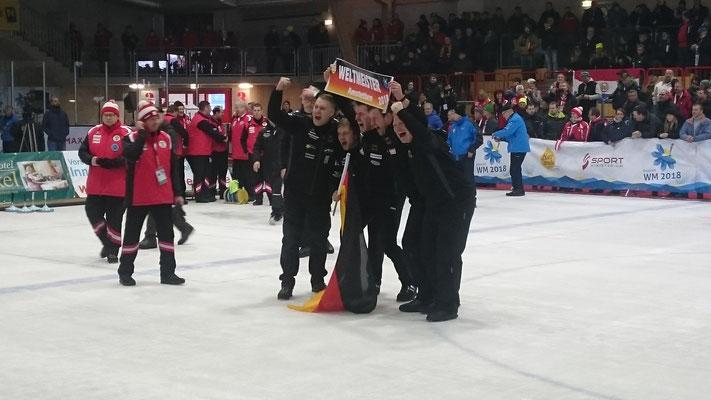 Weltmeister Herren 2018 DEUTSCHLAND