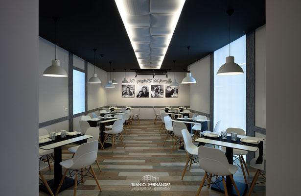 Restaurante La Traviata | Fotografía de interiorismo