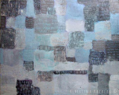 Marks II, 150x190cm, acrylic on canvas, 2012  not available