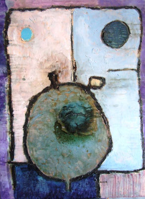 Table 3, oil on canvas, 2011