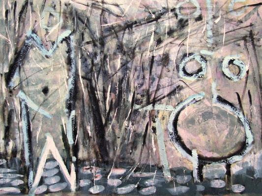 Bush, 80x100cm, oil on canvas, 2011, not available