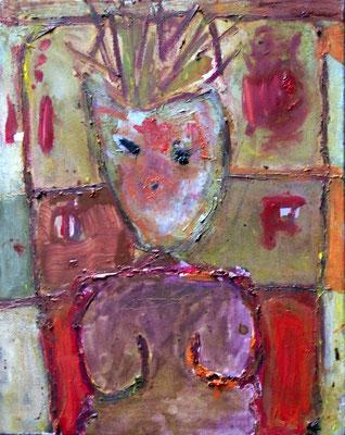 Figure II,  40x50cm, oil on canvas, 2011
