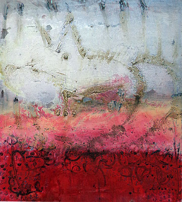 Marks I, 80x70cm, oil, resin on canvas, 2013, not available
