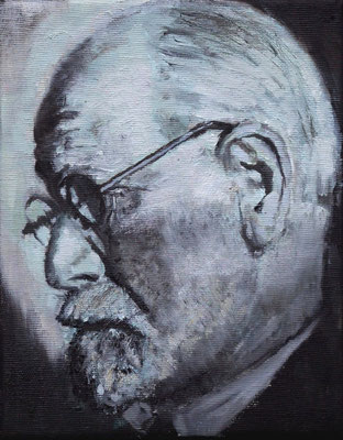 On order: Freud, 24x19cm, oil on canvas, 2011 not available