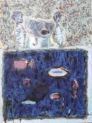 Time for tea, 97x130cm, oil on canvas, 2011