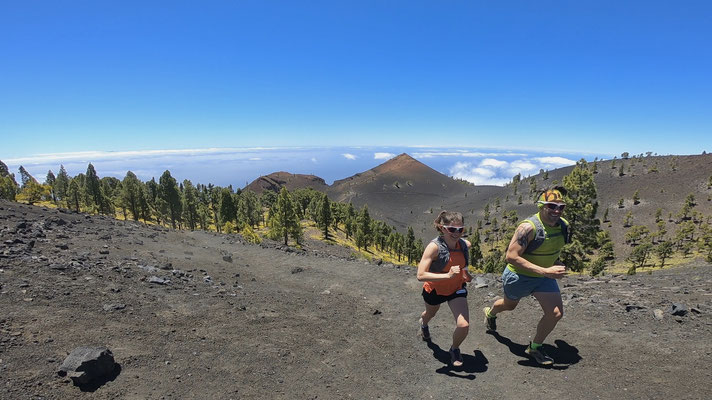 Laufen auf La Palma