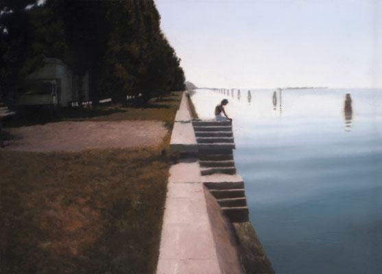 Venedig (Treppe), 1985 © Gerhard Richter, bpk/The Art Institute of Chicago/ Art Resource, NY