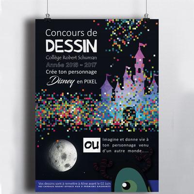 Mise en page d'une affiche