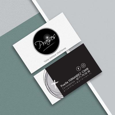 Création d'un logo et Mise en page d'une carte de visite