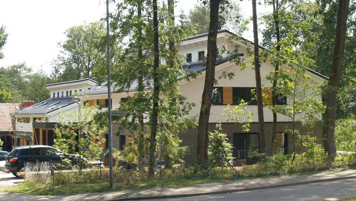 Buchholz, zwei Doppelhäuser, Entwurf 2018, Realisierung durch GU