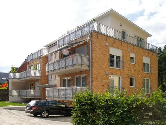 Buchholz, Mehrfamilienhaus, Neubau in Massivbauweise, 2010-2012