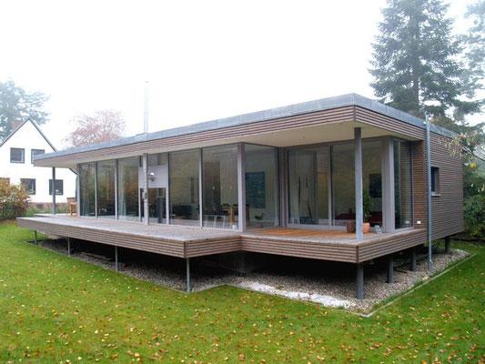 Reinbek, Einfamilienhaus in Holzrahmenbauweise, Neubau, 2014-2015