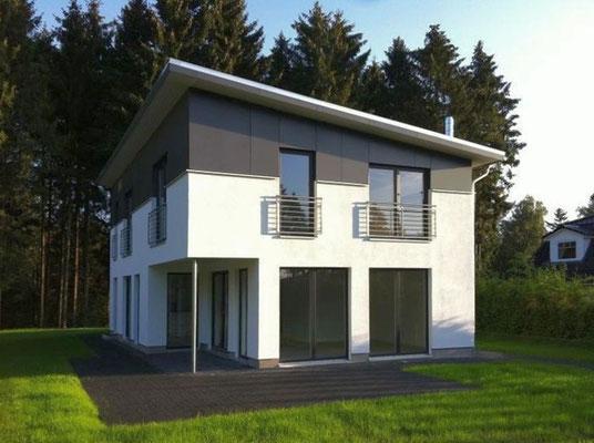 Buchholz, Entwurf für ein Einfamilienhaus, 2010, Realisierung durch GU
