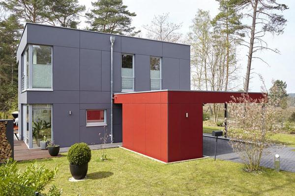 Handeloh, Einfamilienhaus, Neubau in Holzrahmenbauweise, 2009-2010