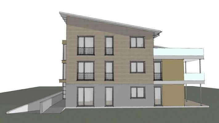 Buchholz, Mehrfamilienhaus, 2019,  Entwurf und Genehmigungsplanung, Realisierung durch GU