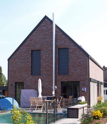 Buchholz, Einfamilienhaus, Neubau in Massivbauweise, 2018-2019