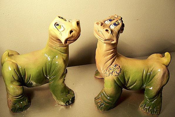 Pareja de Dinos