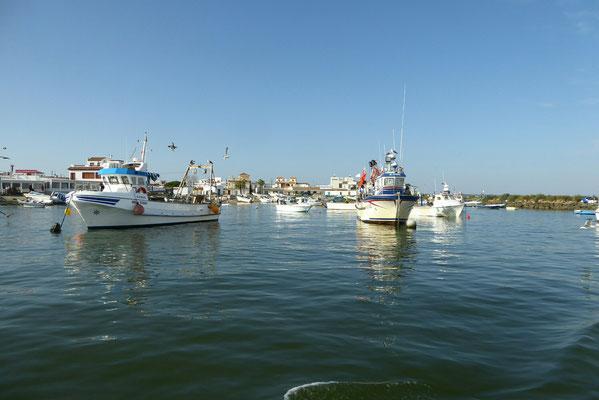 - Einfahrt Isla Canela und Isla del Moral