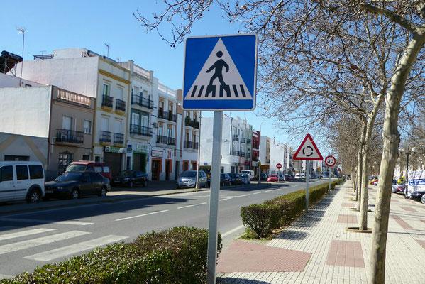 Hauptstraße durch den Ort