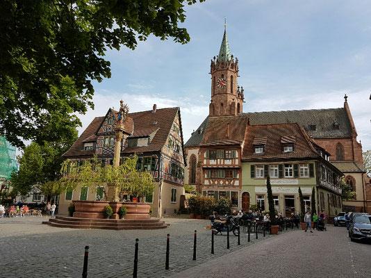 - Marktpatz Ladenburg