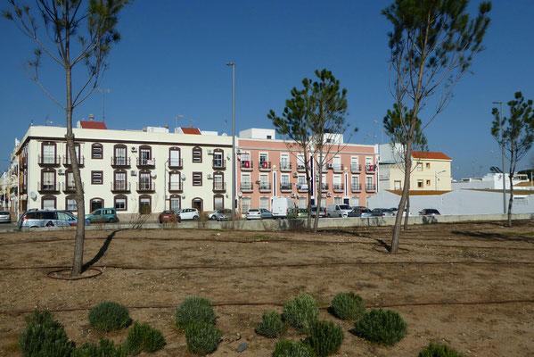 - neue Parkanlage in Hafennähe
