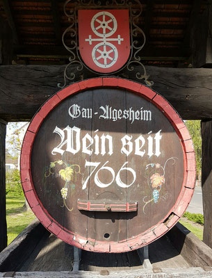 - zurück in Gau-Algesheim (s.o.)
