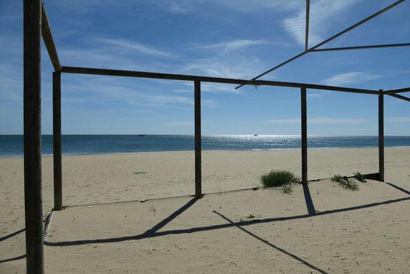 - so schön kann es im Winter am Strand sein
