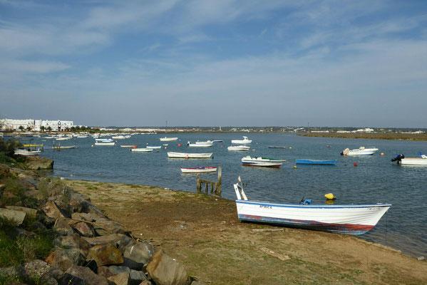 - an der Flussseite Isla Cristina